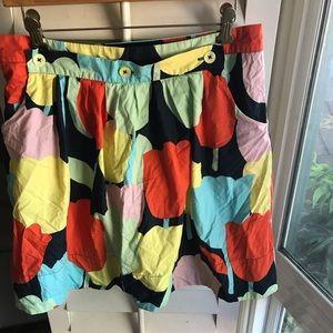 Anthropologie Tulip Skirt By Brand Fei